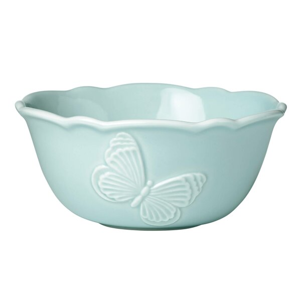 Butterfly Meadow 10 oz. Carved Fruit Bowl by Lenox