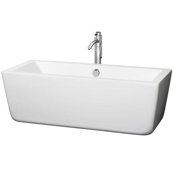 Laura 67 x 29 Soaking Bathtub by Wyndham Collection