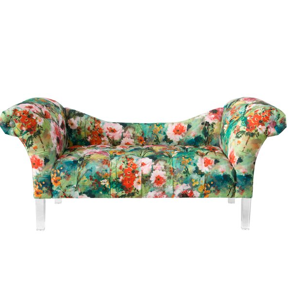 Surrey Tufted Chaise Lounge by Rosdorf Park