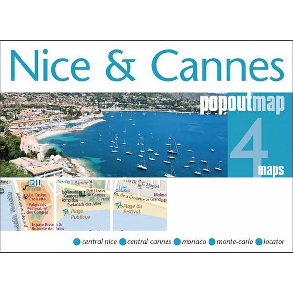 Southern France Adventure Map by Universal Map