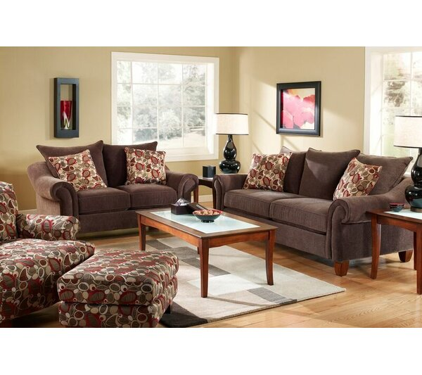 Iain Configurable Living Room Set by Alcott Hill