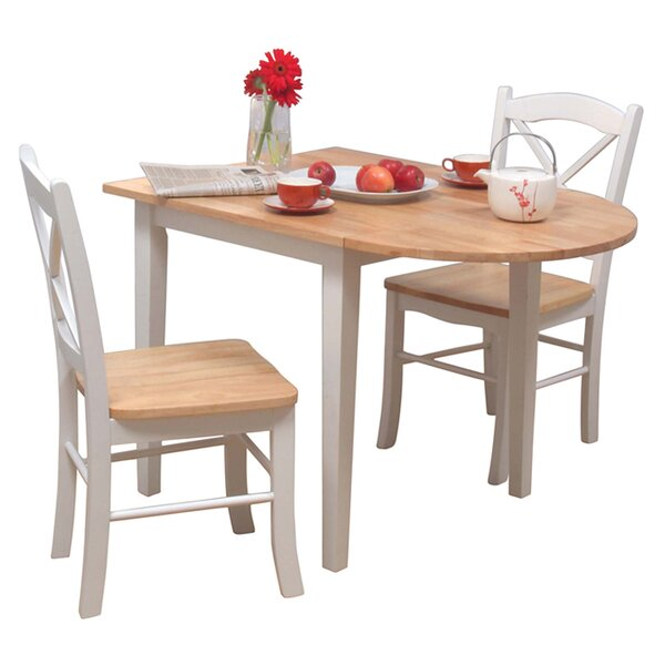 Prudhomme 3 Piece Dining Set by August Grove