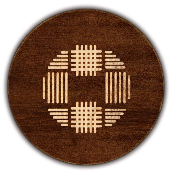 Artisan Woods Coco Weave Round Serving Platter by Martins Homewares