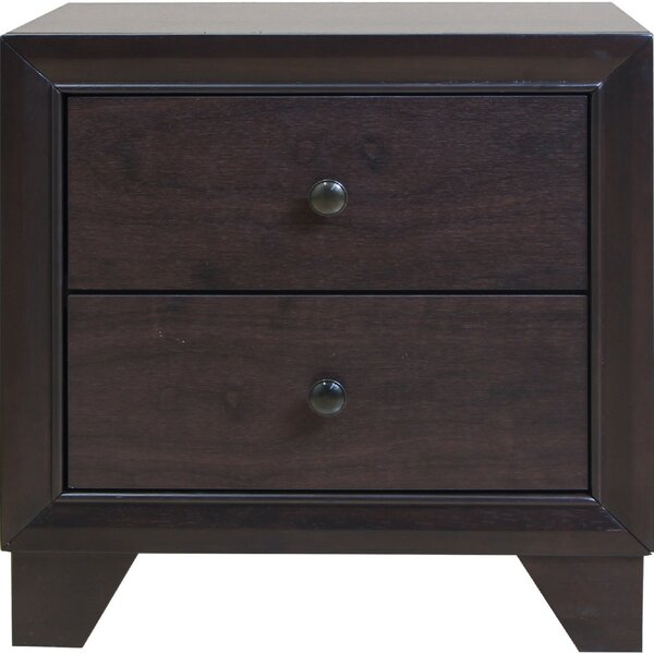 Oddger 2 Drawer Nightstand by Red Barrel Studio