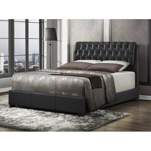 Pinard Upholstered Standard Bed by Alcott Hill