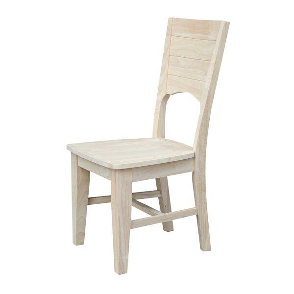 San Jose Solid Wood Dining Chair (Set of 2) by Loon Peak