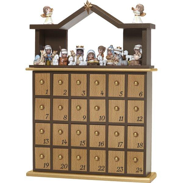 26 Piece Nativity Advent Calendar Set by Precious Moments