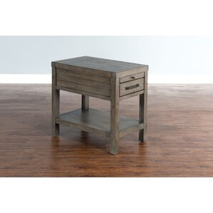 Union Rustic Brianne End Table