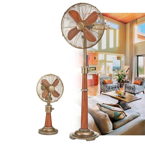 Callas 16 Oscillating Floor Fan by Longshore Tides