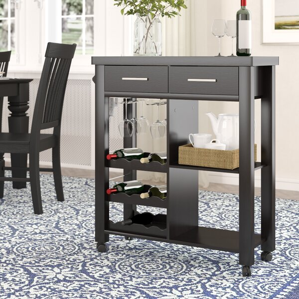 Sanderson Bar Cart by Charlton Home Charlton Home