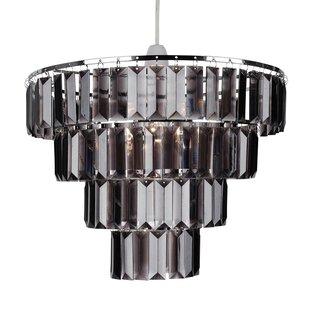 Easy fit chandelier wayfair 4 tier easy fit 30cm acrylic novelty pendant shade aloadofball Choice Image