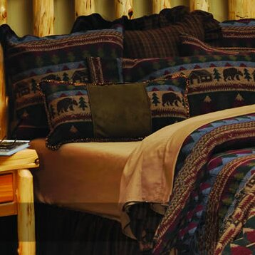Cabin Bear Coverlet Collection by Wooded River
