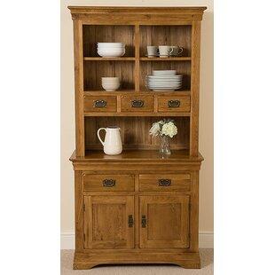 Hobart Rustic Solid Oak Welsh Dresser