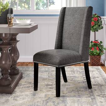 Alcott Hill Letitia Upholstered Parsons Chair Reviews Wayfair