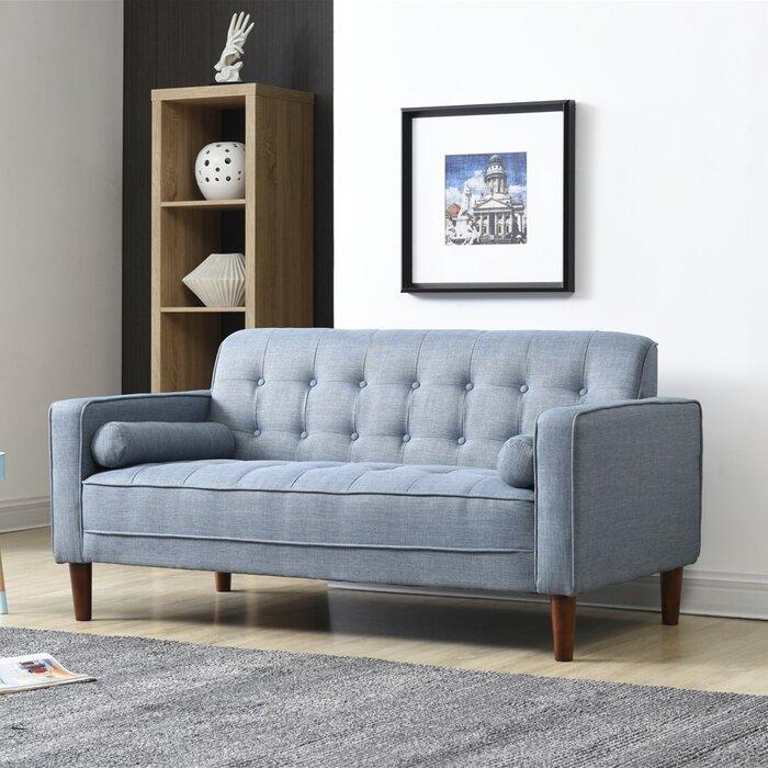 Magnificent Isaac Standard Loveseat Machost Co Dining Chair Design Ideas Machostcouk