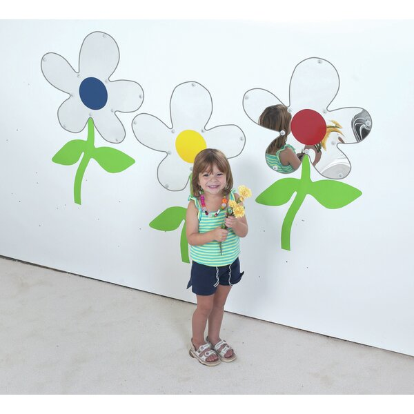 3 Piece Flower Mirror Set (Set of 3) by Children's Factory