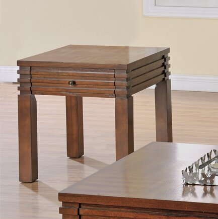 Stegner End Table with Storage by Millwood Pines