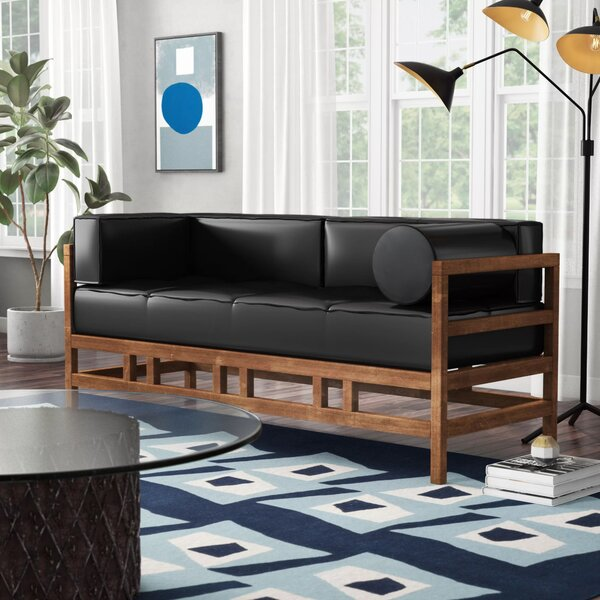 Feltner 74.02-inch Round Arm Sofa by Ivy Bronx Ivy Bronx
