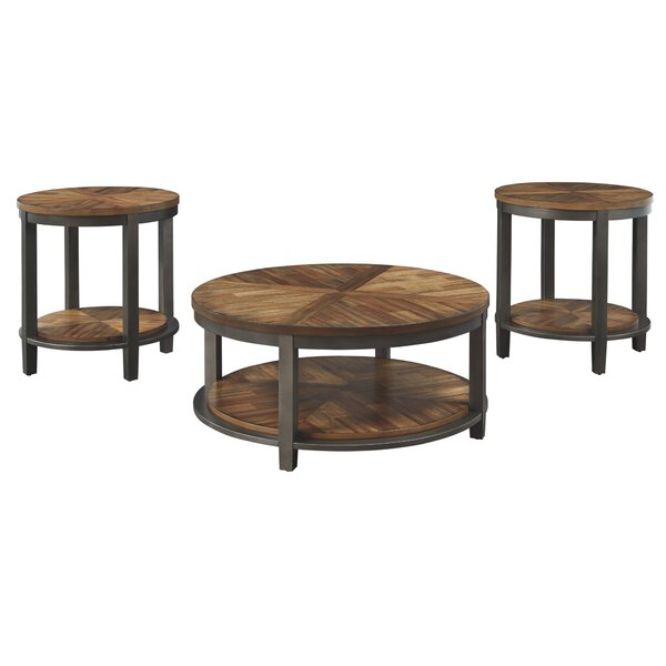 Richville 3 Piece Coffee Table Set by Williston Forge