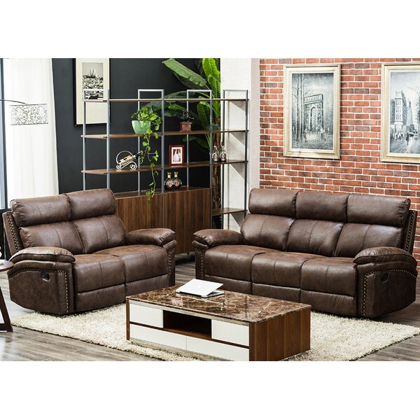 Review Loys 2 Piece Reclining Living Room Set
