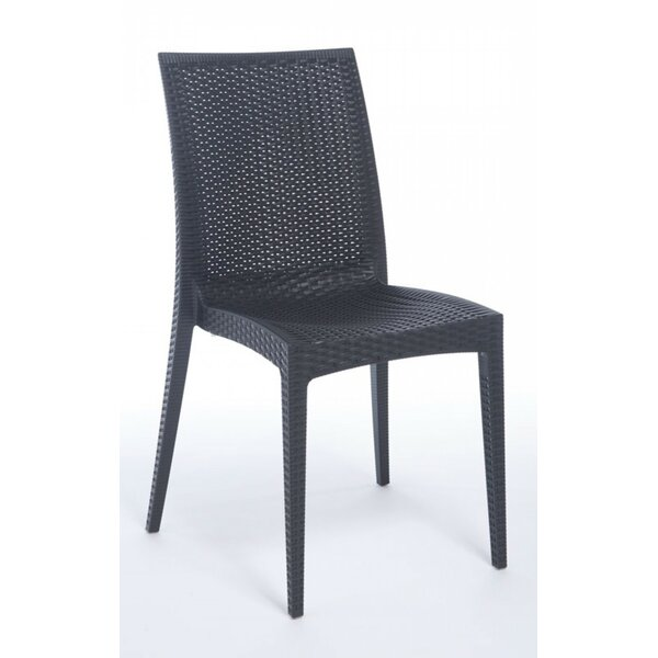 Chatmoss Bistrot Stacking Patio Dining Chair By Wade Logan.