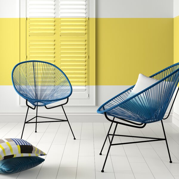 Travers Papasan Chair (Set of 2) by Hashtag Home