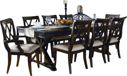 Rockton 9 Piece Dining Set by Laurel Foundry Modern Farmhouse
