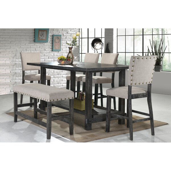 Kailey 6 Piece Dining Set by Gracie Oaks Gracie Oaks