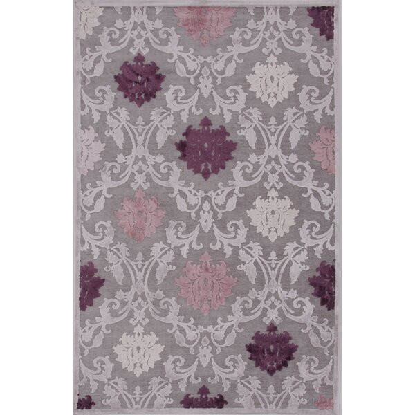 One-of-a-Kind Bowles Machine-Woven Chenille Gray Area Rug by Willa Arlo Interiors