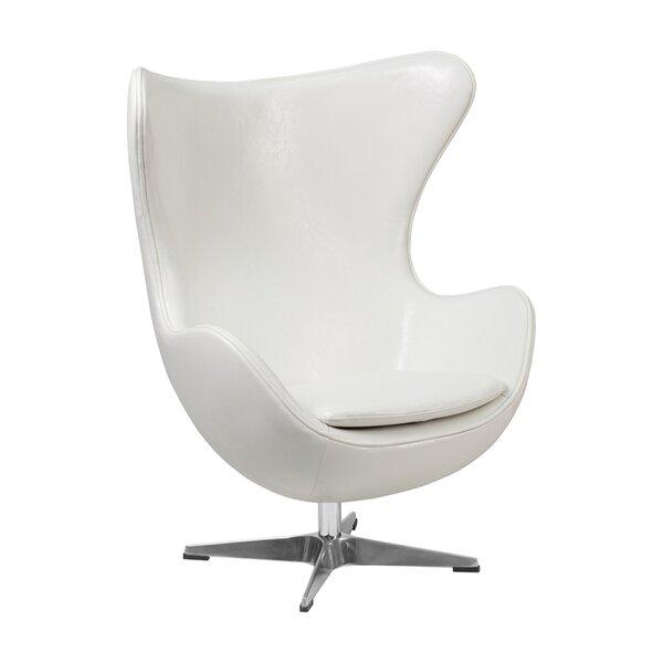 Vanessa Swivel Lounge Chair by Orren Ellis