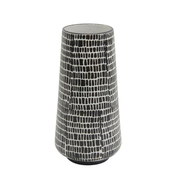 Thurston Ceramic Cobble Table Vase by Union Rustic