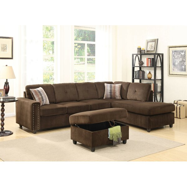 Crowder Reversible Sectional with Ottoman by Red Barrel Studio
