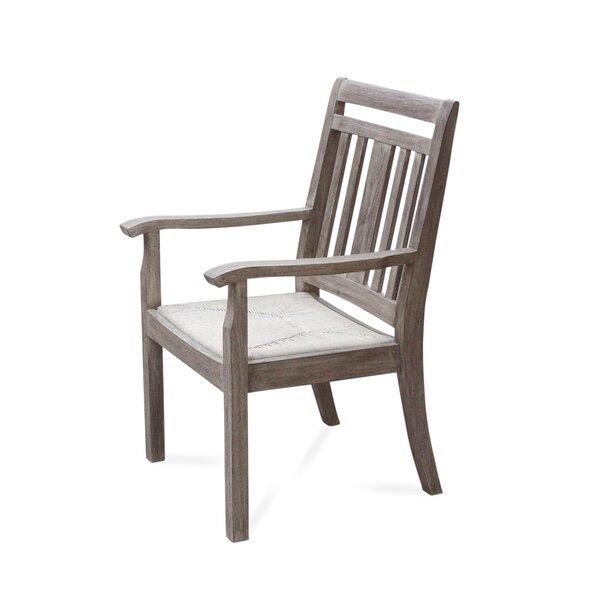 Kaylah Teak Patio Dining Chair by Gracie Oaks Gracie Oaks