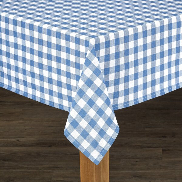 Andreas Check Tablecloth by August Grove