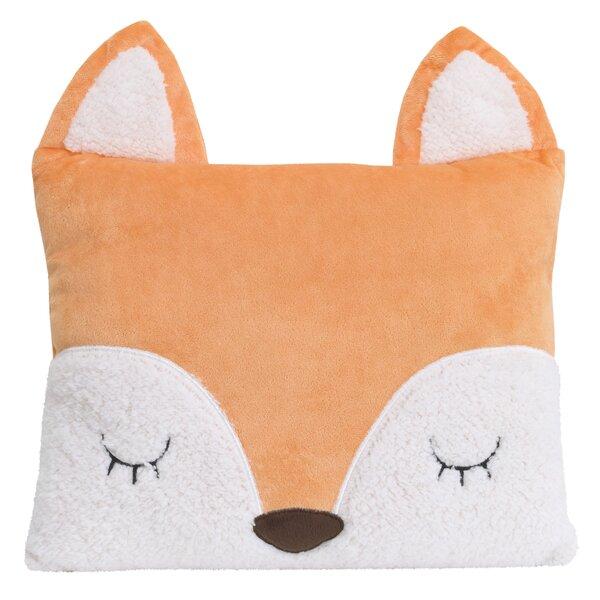 Ebersole Fox Throw Pillow by Little Love by Nojo
