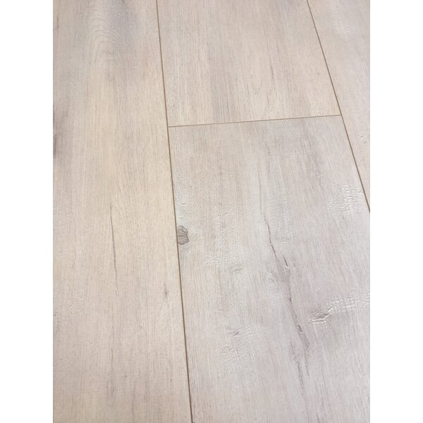 European Oak 8 x 49 x 12mm Laminate Flooring in Beige (Set of 4) by Christina & Son