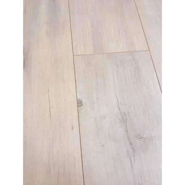European Oak 8 x 49 x 12mm Laminate Flooring in Beige (Set of 4) by Christina & Son