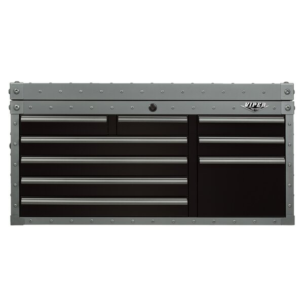 Armor Series 41W 9-Drawer Top Chest by Viper Tool