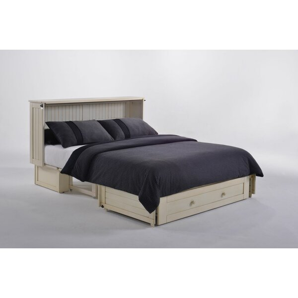 Cossette Queen Storage Murphy Bed with Mattress by Rosecliff Heights Rosecliff Heights