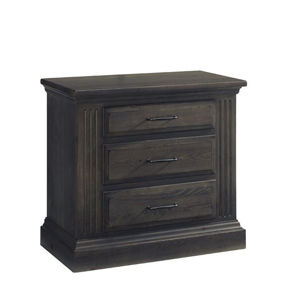 Leesa 3 Drawer Nightstand by Loon Peak