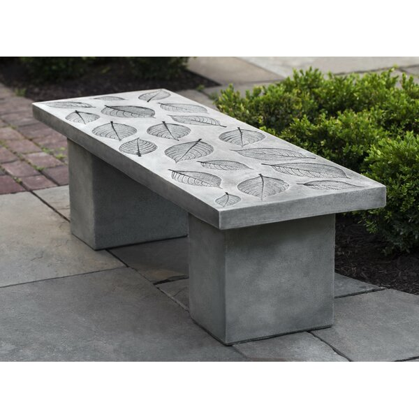 Hirsch Hydrangea Leaf Bench by August Grove
