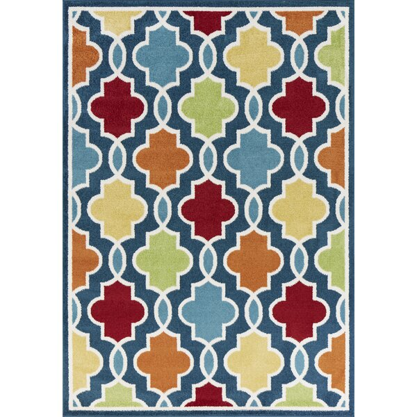 Tompkins Blue Area Rug by Andover Mills
