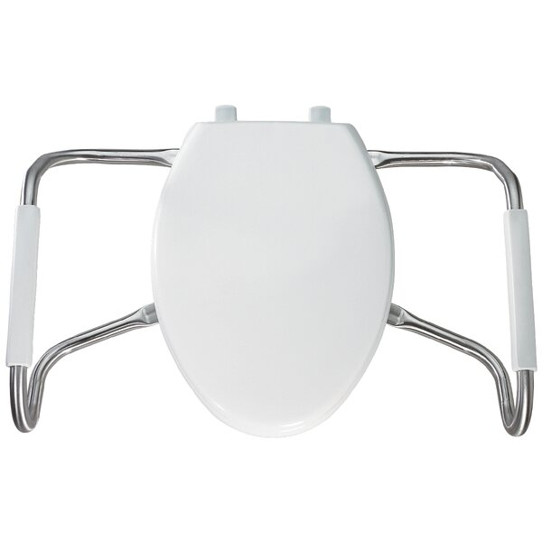 Medic Aid Closed Front Elongated Toilet Seat by Be