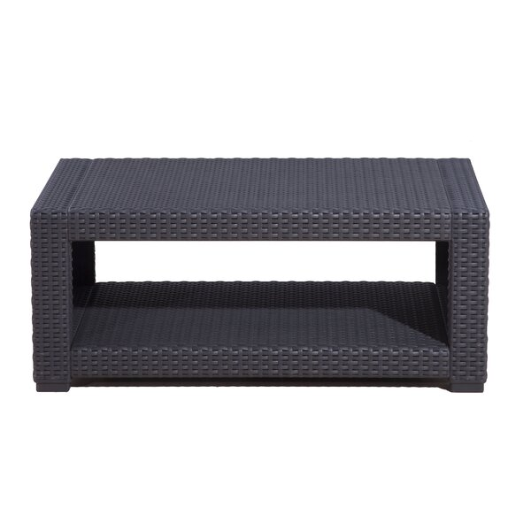 Blanchard Wicker Coffee Table by Highland Dunes