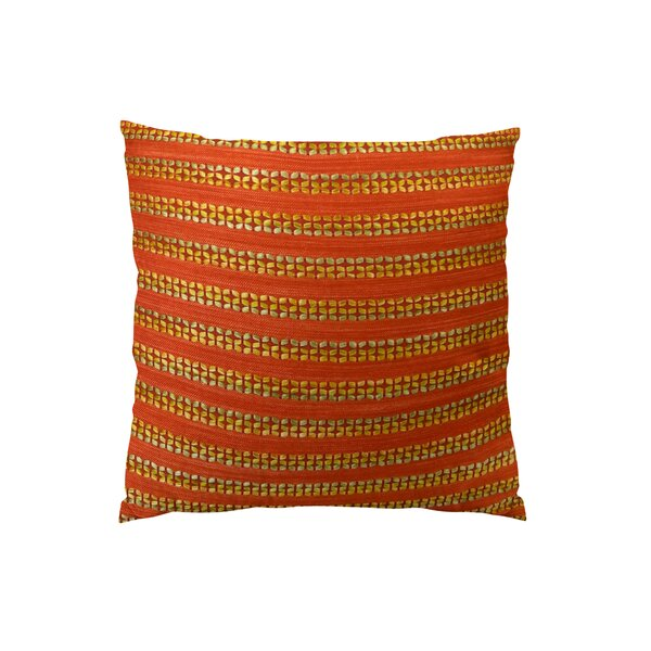 Tied Rows Throw Pillow by Plutus Brands
