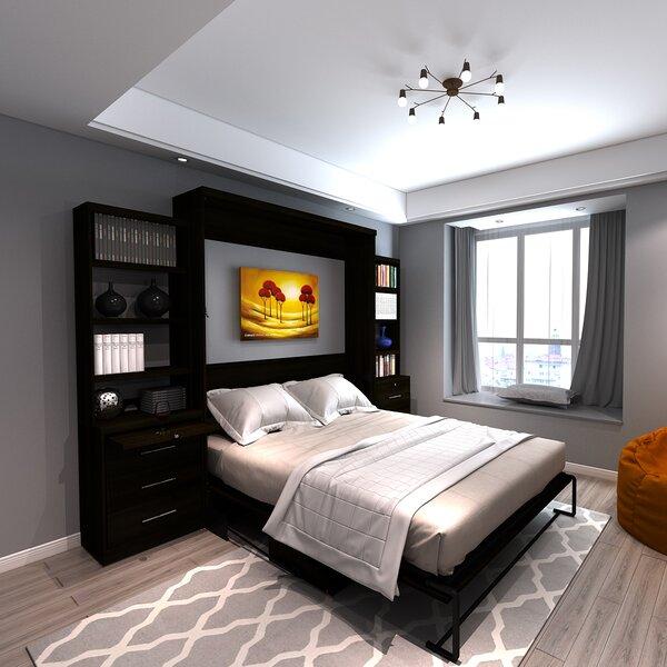 Munn Desk Queen Storage Murphy Bed by Brayden Studio