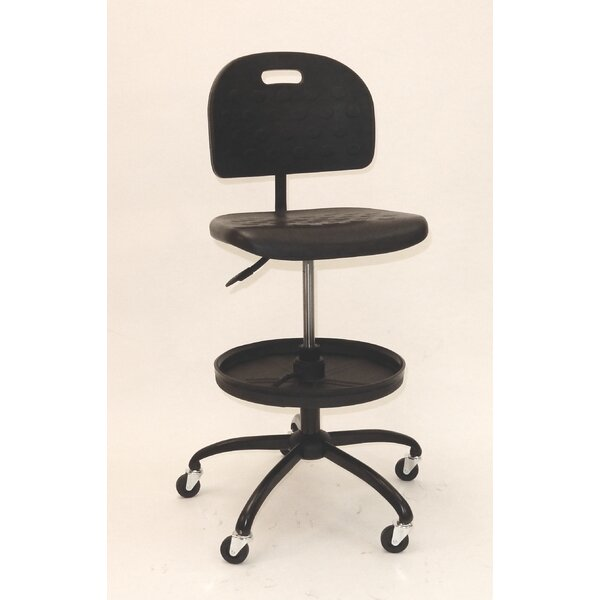 Shop Chair with Adjustable Tool Tray by ShopSol