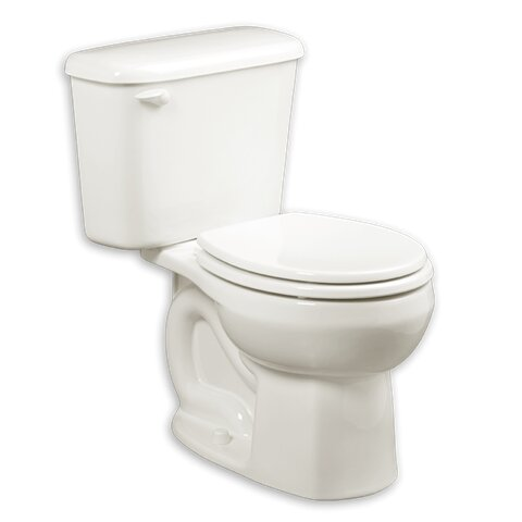 Colony 1.28 GPF Round Two-Piece Toilet by American Standard