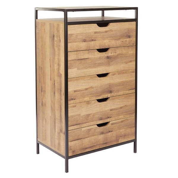Winland 5 Drawer Chest by Union Rustic