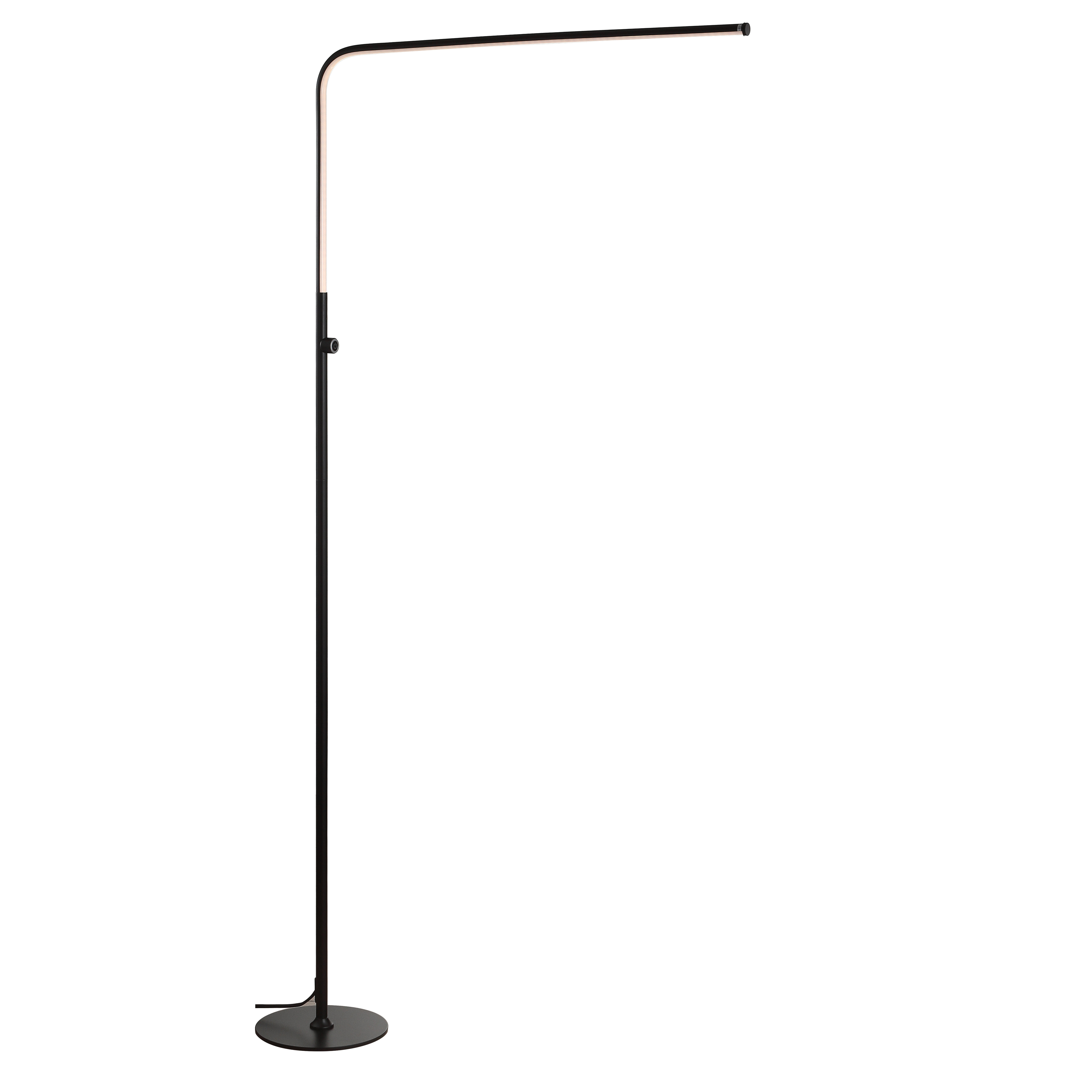 Uffington 63 Led Arched Floor Lamp Reviews Allmodern
